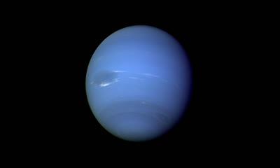 蔚蓝色的海王星