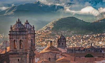 Cusco Cathedral on the Plaza de Armas, Cusco, Peru