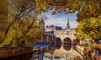 River Avon in Bath, England