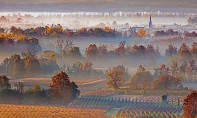 世界著名气泡酒产地普罗塞克山丘,意大利威尼托